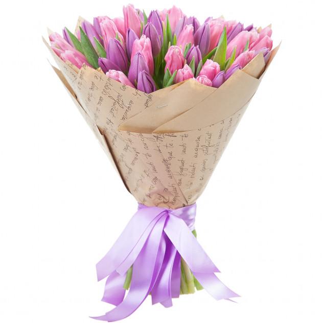 Букет из тюльпанов № 2